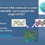 Shift from DNA molecule to water ensemble - Igor Jerman